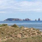 Vista Illes Medes desde la terraza