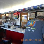 Inside the Brunswick Diner