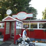 Outside view of the Brunswick Diner