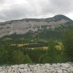 View from Frank's Slide Interpretive Centre