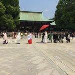 Meji Temple Wedding Ceremony