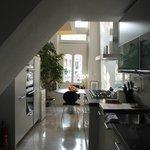 kitchen in the breakfast area