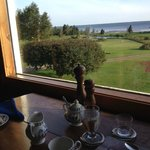 dining room  view of the Northumberland Strait