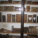 Antique wooden sugar moods