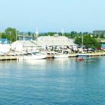 View of Breakwater Bar and Grill at the Kenosha Yacht Club