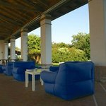 Lounge Area für den Sundowner