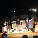 Evening show. Cretan wedding.