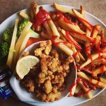 Delicious Fried Clams