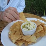 In house private dining tortilla chips