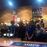 The friendly bar team at Newlands