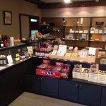 Mini souvenir shop at Sumiya Kihoan, do buy the mini black bean pancakes to try as it taste grea