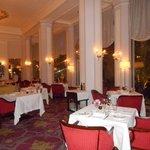 la salle de restaurant avant ouverture