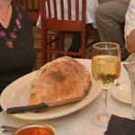 Colosseum-large calzones here.