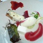 le sorbet fromage chèvre et fantaisie gustative