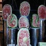 Melon sculptures