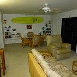 Outrigger Kanaloa: first condo lounge / dining area