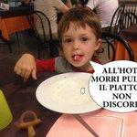 Cenare all'hotel Morri Riccione