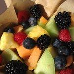 Fruit basket - fresh and yummy