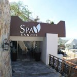 The spa....