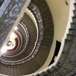 escalier vue d'en haut