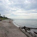 Beach - short walk from hotel