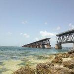 Old Flagler Bridge - strong currents!