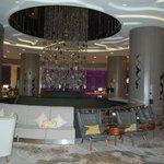 Interessante Raumgestaltung in der Lobby