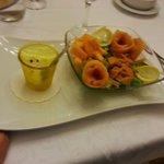 Melone e salmone