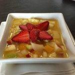 Ensalada de frutas preparada com carinho especialmente para mim