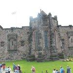 Uno de los muchos rincones del castillo de Edimburgo