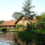 Typisches Spreewaldhaus in Lehde