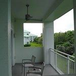 Il grande balcone esterno