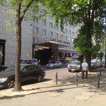Front of hotelBristol Kempinski