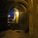 scene notturne a Santiago de Compostela