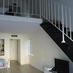 La camera su due livelli