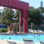 Piscina Dinsey´s All Star Movies