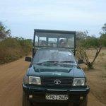 De safari jeep