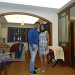 Our pic in the room