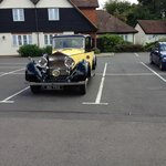 yellow 1930 Rolls-Royce Phantom II