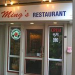 ming's have great chinese food