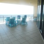 Deck area of 709