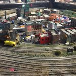 Amazing model trains - all running