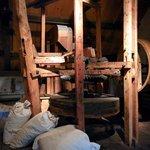 Machine à nettoyer le grain