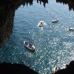 Riflessi dalla Grotta Bianca