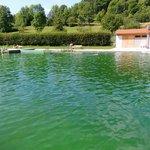 Naturbad in 500 m Entfernung