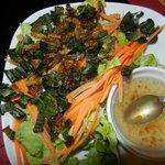 Assiette dégustation d'insectes