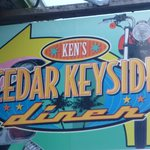 Ken's Cedar Keyside Sign