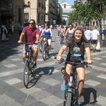 Sunshine in Madrid, 20 August