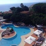 La piscina nel primo pomeriggio