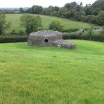 Outside the Passage Tomb